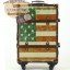 กระเป๋าเดินทางวินเทจ รุ่น vintage classic ลายธงชาติอเมริกา ขนาด 22 นิ้ว thumbnail 3