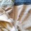 เอี๊ยมกระโปรงยีนส์ สีเข้ม ต่อด้วยผ้ายืดเนื้อนิ่ม สกรีนลาย thumbnail 5