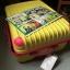 กระเป๋าเดินทางล้อลากไฟเบอร์ รุ่น colorful เหลืองขอบชมพู ขนาด 20/24/28 นิ้ว thumbnail 5