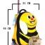 กระเป๋าเดินทางเด็ก รุ่น Animal กระเป๋าเดินทางผึ้งน้อย thumbnail 8