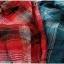 SM2 เสื้อเชิ้ตผ้าฝ้ายสไตล์ลำลองญี่ปุ่น ลายสก้อตสีสวยสด thumbnail 3
