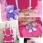 กระเป๋าเดินทางวินเทจ รุ่น spring colorful ม่วงคาดขาว ขนาด 22 นิ้ว thumbnail 8