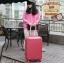 กระเป๋าเดินทางไฟเบอร์ รุ่น pastal ชมพู ขนาด 28 นิ้ว thumbnail 3