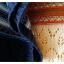 เสื้อไหมพรมฉลุ ลายสมอ (สีครีมวนิลา) thumbnail 4
