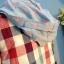 SM2 เสื้อคุลมลายสก้อตสไตล์ญี่ปุ่น มี hood thumbnail 5
