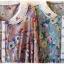 QJH เดรสผ้าซาตินลายดอกไม้สไตล์วินเทจ thumbnail 6
