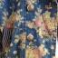 เสื้อแจ๊กเก๊ต มี hood ผ้ายีนส์ลายดอกไม้วินเทจ thumbnail 5