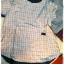 เสื้อผ้าฝ้ายลายสก้อตสไตล์ญี่ปุ่น เนื้อผ้านิ่มมากๆ thumbnail 2
