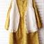 Megu เสื้อกั๊ก ผ้าไหมพรมนิ่ม แต่งลูกไม้ถัก thumbnail 4