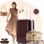 กระเป๋าเดินทางไฟเบอร์ รุ่น Aluminium น้ำตาล ขนาด 24 นิ้ว thumbnail 5
