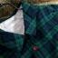 เดรสเชิ้ตผ้าฝ้ายลายสก้อตคลาสสิค สีเขียวเข้ม thumbnail 2