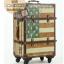 กระเป๋าเดินทางวินเทจ รุ่น vintage classic ลายธงชาติอเมริกา ขนาด 22 นิ้ว thumbnail 4