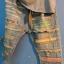 กางเกงยีนส์แต่งเซอร์ สีฟอก ขา 5-9 ส่วน thumbnail 2