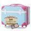 กระเป๋าเดินทางวินเทจ รุ่น colorful ฟ้าคาดชมพู ขนาด 24 นิ้ว thumbnail 2