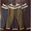 กางเกงขายาว ผ้าฝ้ายสไตล์ญี่ปุ่น ลายกราฟฟิครูปใบไม้ thumbnail 5