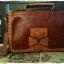 กระเป๋าหนัง pu รุ่นสะพายไหล่ แต่งโบว์ด้านหน้า thumbnail 5