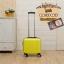 กระเป๋าเดินทางใบเล็ก รุ่น basic สีเหลือง ขนาด 16 นิ้ว thumbnail 1