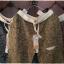 กางเกงขายาว ผ้าฝ้ายสไตล์ญี่ปุ่น ลายกราฟฟิครูปใบไม้ thumbnail 3