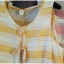 sakura เสื้อผ้าฝ้าย สไตล์ 2 ชั้น แขนกุด ลายริ้ว thumbnail 4