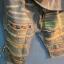 กางเกงยีนส์แต่งเซอร์ สีฟอก ขา 5-9 ส่วน thumbnail 3