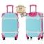 กระเป๋าเดินทางวินเทจ รุ่น colorful ฟ้าคาดชมพู ขนาด 24 นิ้ว thumbnail 3