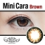 Mini Cara Brown Dreamcolor1เลนส์นิ่มใส่สบาย คอนแทคเลนส์ ขายส่งคอนแทคเลนส์ ขายส่งBigeye Bigeyeเกาหลี thumbnail 2