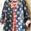 เสื้อสไตล์ญี่ปุ่น 2 ชิ้น ผ้ายีนส์ลายวงกลม thumbnail 5