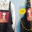 เอี๊ยมกางเกงยีนส์เต็มตัว สีพื้นลายการ์ตูนด้านหน้า สไตล์เซอร์ๆ thumbnail 2