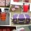 กระเป๋าเดินทางวินเทจ รุ่น spring colorful ชมพูเชอร์เบทคาดน้ำตาล ขนาด 20 นิ้ว thumbnail 7