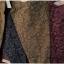 กางเกงขายาว ผ้าฝ้ายสไตล์ญี่ปุ่น ลายกราฟฟิครูปใบไม้ thumbnail 4
