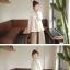 Megu เสื้อกั๊ก ผ้าไหมพรมนิ่ม แต่งลูกไม้ถัก thumbnail 6