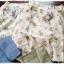 M babyruy กางเกงกระโปรงขายาวผ้าฝ้ายลายดอกไม้ thumbnail 4