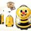 กระเป๋าเดินทางเด็ก รุ่น Animal กระเป๋าเดินทางผึ้งน้อย thumbnail 4