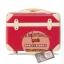 กระเป๋าเดินทางวินเทจ รุ่น colorful ชมพูเข้มคาดชมพูอ่อน ขนาด 22 นิ้ว thumbnail 2
