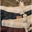 กางเกงขายาว ผ้าฝ้ายสไตล์ญี่ปุ่น ลายกราฟฟิครูปใบไม้ thumbnail 9
