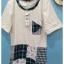 เสื้อยืดคอกลม สไตล์ญี่ปุ่น แพทชเวิรค thumbnail 2