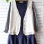 Megu เสื้อกั๊ก ผ้าไหมพรมนิ่ม แต่งลูกไม้ถัก thumbnail 5