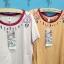เสื้อยืดคอกลม เนื้อนิ่ม ปักลายสไตล์อินเดียนแดง thumbnail 3