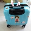 กระเป๋าเดินทางใบเล็ก รุ่น basic สีฟ้า ขนาด 16 นิ้ว thumbnail 4