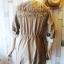 เสื้อคลุม overcoat แต่งลูกไม้ เอวรูด( สีน้ำตาล ) thumbnail 9