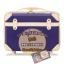 กระเป๋าเดินทางวินเทจ รุ่น colorful น้ำเงินเข้มคาดชมพูอ่อน ขนาด 24 นิ้ว thumbnail 2