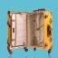 กระเป๋าเดินทางวินเทจ รุ่น vintage retro ลายเสือดาว เซ็ตคู่ ขนาด 12+24 นิ้ว thumbnail 2