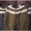 กางเกงขายาว ผ้าฝ้ายสไตล์ญี่ปุ่น ลายกราฟฟิครูปใบไม้ thumbnail 6