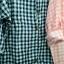 เสื้อเชิ้ตผ้าฝ้ายทอลายสก้อต สไตล์ญี่ปุ่น thumbnail 3