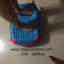 กระเป๋าเดินทางล้อลากไฟเบอร์ รุ่น colorful ฟ้าเข้มขอบชมพู ขนาด 20/24/28 นิ้ว thumbnail 5