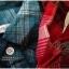SM2 เสื้อเชิ้ตผ้าฝ้ายสไตล์ลำลองญี่ปุ่น ลายสก้อตสีสวยสด thumbnail 6