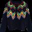 Nordic Style เสื้อคลุม cardigan กันหนาวลายสแกนดิเนเวีย thumbnail 5