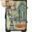 กระเป๋าเดินทางวินเทจ รุ่น vintage classic ลายเมืองฝรั่งเศส ขนาด 20 นิ้ว thumbnail 4