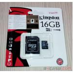 Micro SD 16 GB Class 10 - Kingston