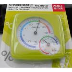 Deli no.9019 Indoor Thermo-Hygrometer เครื่องวัดความชื้นและอุณหภูมิ สีเขียว